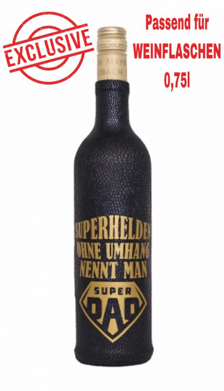 Superhelden ohne Umhang nennt man Super Dad mit Exclusive Logo